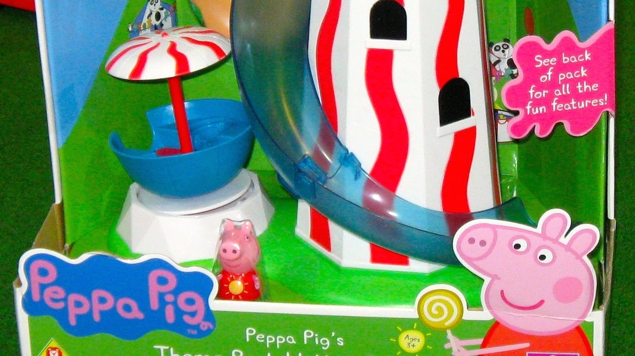 Peppa Pigs Theme Park Helter Skelter  YouTube