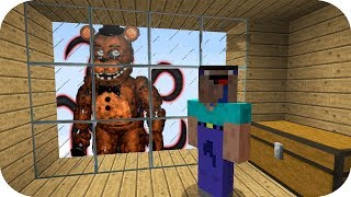 NOOB VS CREEPYPASTA CASA SECRETA DE FNAF MINECRAFT TROLL + ROLEPLAY