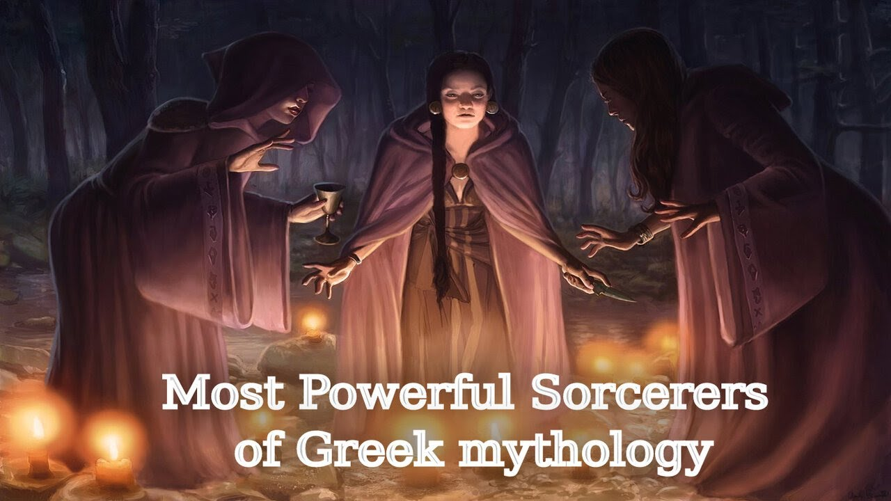 Download The 4 Most Powerful Sorcerers Of Greek Mythology: Hecate (Hekate), Circe, Pasiphae & Medea