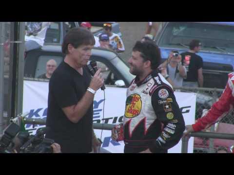 Williams Grove Speedway Kasey Kahne, Kyle Busch, Tony Stewart 8-5-10