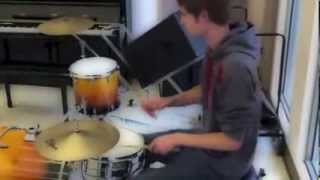 "Drum Cover of ""Lucky Charm"" by Illy B (Billy Martin)"