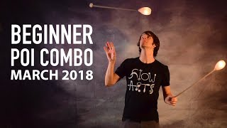Poi Dance Choreography: Beginner Poi Combo March 2018