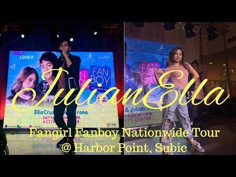 Julian Trono & Ella Cruz | Fangirl Fanboy Nationwide Tour @ Harbor Point, Subic