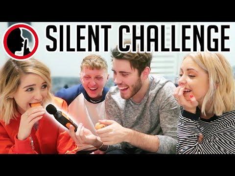 ZALFIE & SOPPY SILENT CHALLENGE!