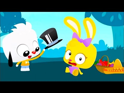 PLAYKIDS TAP TAP TOY GAME APP WITH MAGICIAN TOYS FISHING AND LEARNING HOW TO DRAW AND COLOR