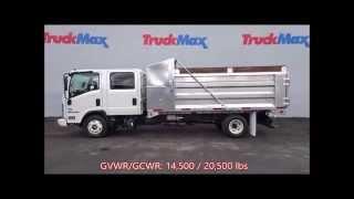 ISUZU 16' Aluminum Landscape Dump Truck