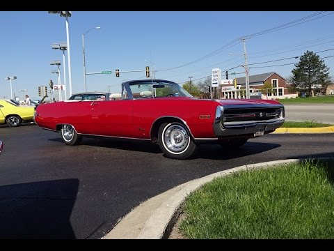 1970 Chrysler 300 Convertible in Red Paint & Engine Sound on My Car Story with Lou Costabile