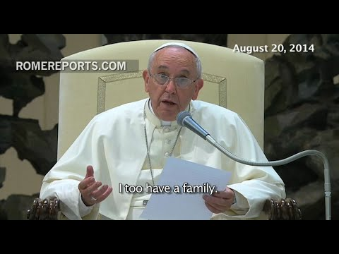 Pope Francis' eight tips to improve family life