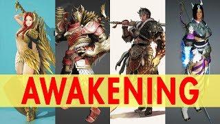 รวม Awakening ทั้ง 12 อาชีพ! (Black Desert Online) l VRZO