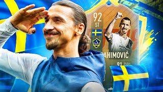 NAJLEPSZY 92 ZLATAN IBRAHIMOVIĆ! FIFA 19 ULTIMATE TEAM