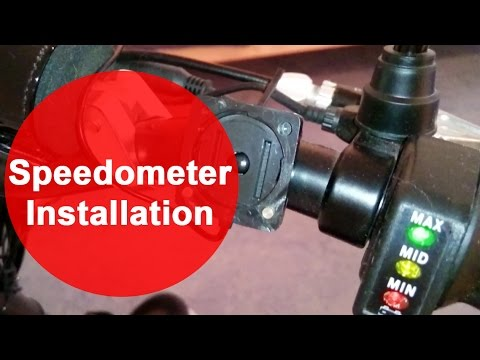 mach1 electric scooter 1000w 48v speedometer installation tuning modification youtube. Black Bedroom Furniture Sets. Home Design Ideas