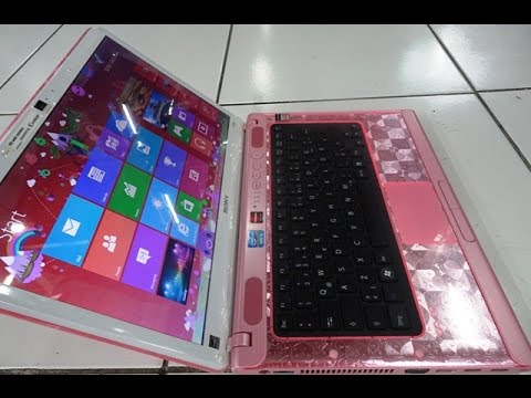 Sony Vaio Intel Core I5 Limited Edition Gaming Laptop In Pink Youtube