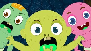 Zombie Baby Three | Schoolies Cartoons | Video For Kids by Kids Channel