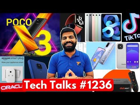 Tech Talks #1236 – Poco X3 India Launch Confirm, iPhone 12 Pro Fake, Realme with 875, TikTok Deal