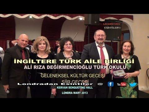 INGILTERE TURK AILE BIRLIGI GELENEKSEL KULTUR GECESI MART 2013 HD