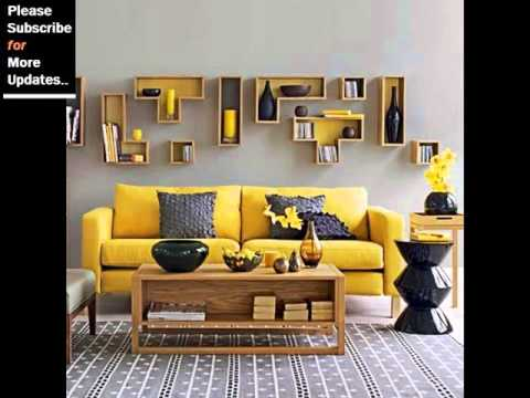 Yellow home d cor collection yellow decorative home decorating ideas youtube - Decorative items for home ...