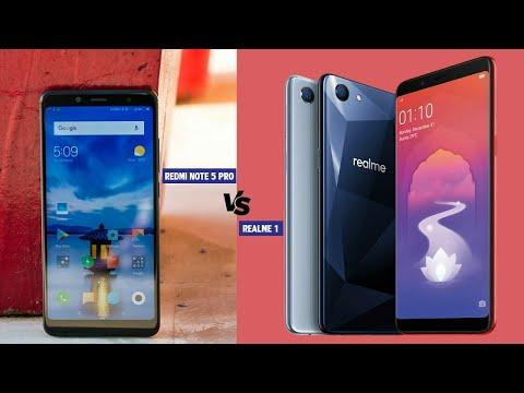 Oppo Realme 1 Vs Redmi Note 5 Pro Comparision, Specifications, Features, Camera || 🔥🔥TECH Hindi 🔥