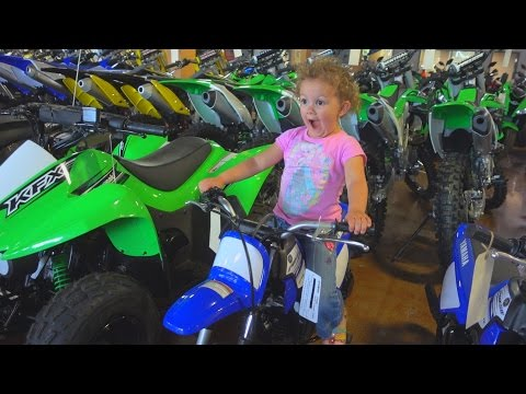 FIRST TIME DIRT BIKE SHOPPING FOR THE FAMILY!