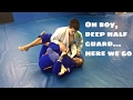 Breaking Down the Back Take From Deep Half Guard (Recorded Live)