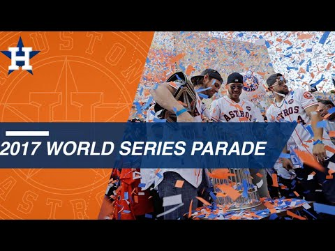 Astros celebrate World Series win with massive parade