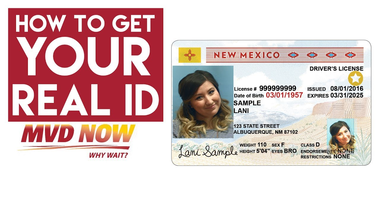 New Mexico Motor Vehicle Division Albuquerque Nm >> 3 Easy Steps On How To Get Your New Mexico Real Id Mvd Now