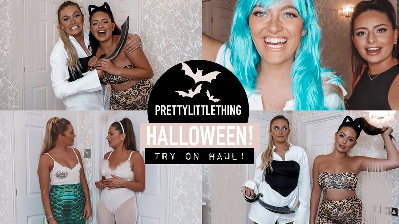 [VIDEO] - TESTING PRETTY LITTLE THING HALLOWEEN COSTUMES WITH GEORGIA MAY! · * TIPSY * lol | Emily Philpott 5