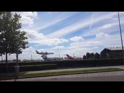 Farnborough Air Show 2016 - Airbus A350 Landing at Farnborough Airport