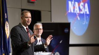 NASA Administrator Jim Bridenstine visits Langley, July 31, 2018