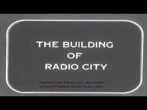 THE BUILDING OF RADIO CITY MUSIC HALL New York City HOME MOVIE Reel 1
