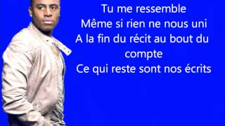 Axel Tony - Je te ressemble paroles HD