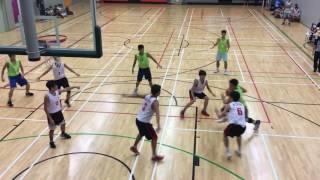 全港學界籃球馬拉松(文理V.S.彩天)第二節
