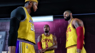 beefing with cavaliers in the tunnel nba 2k17 my career gameplay ep 34