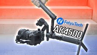 BESSERE VIDEOS MIT EINEM GIMBAL⁉️ FeiyuTech AK 4500 Review