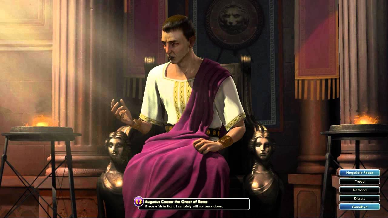 Civilization V Ost Augustus Caesar War Theme Ancient