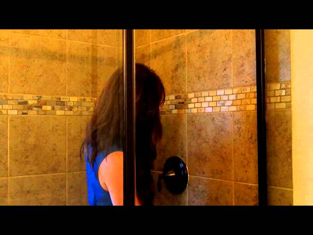 Awesome Shower Blooper