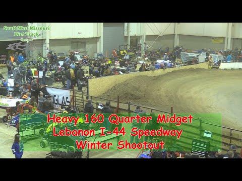 Heavy 160 Quarter Midget- I-44 Speedway Winter Shootout 1-19-2018