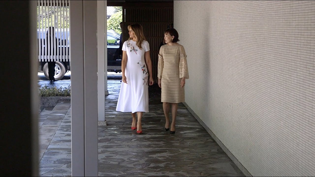 The White House - First Lady Melania Trump Visits Japan