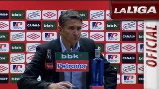 Rueda de Prensa de Philippe Montanier tras el Athletic Club (1-3) Real Sociedad - HD