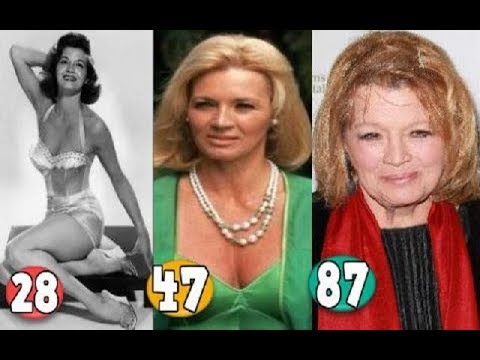 Angie Dickinson ♕ Transformation From 19 To 87 Years OLD