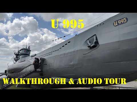 German WWII Submarine Walkthrough & Tour- The U995 - Type VIIC/41