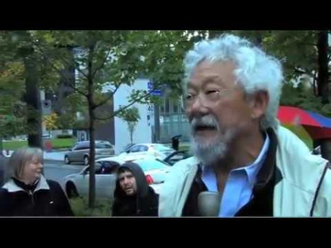 David Suzuki's Interview at Occupy Montreal