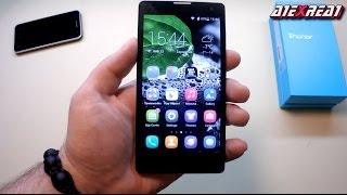 Huawei Hоnor 3C первый обзор отличного смартфона на русском языке с LTPS дисплеем review
