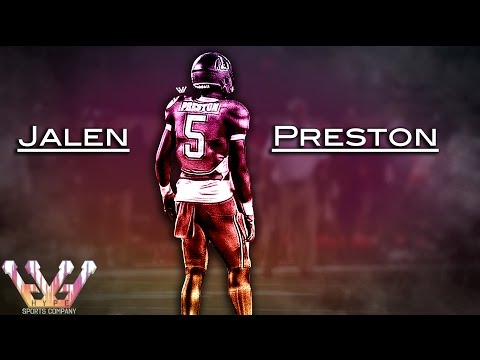 CAN'T BE TOUCHED: Jalen Preston Football Highlights | Manvel High School