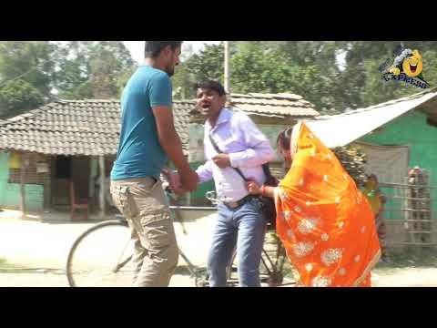 रामलाल के साइकिल || RAMLAL FULMATIYA || MAITHILI COMEDY