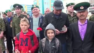 100 лет погранвойскам. Открытие памятника в Лениногорске. Часть 1