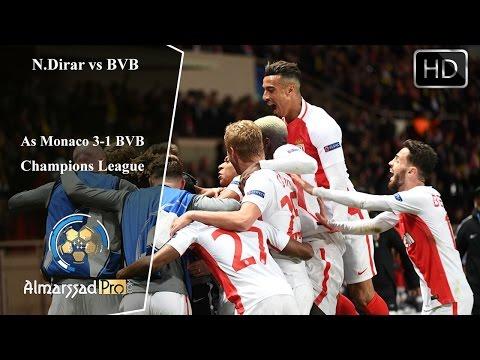 Nabil Dirar vs Borussia Dortmund / 19.04.2017 HD نبيل درار يتأهل لنصف نهائي دوري الأبطال
