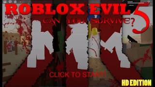 ROBLOX- Roblox Evil 5 - France Édition classique -brickman637- Gameplay nr.0905