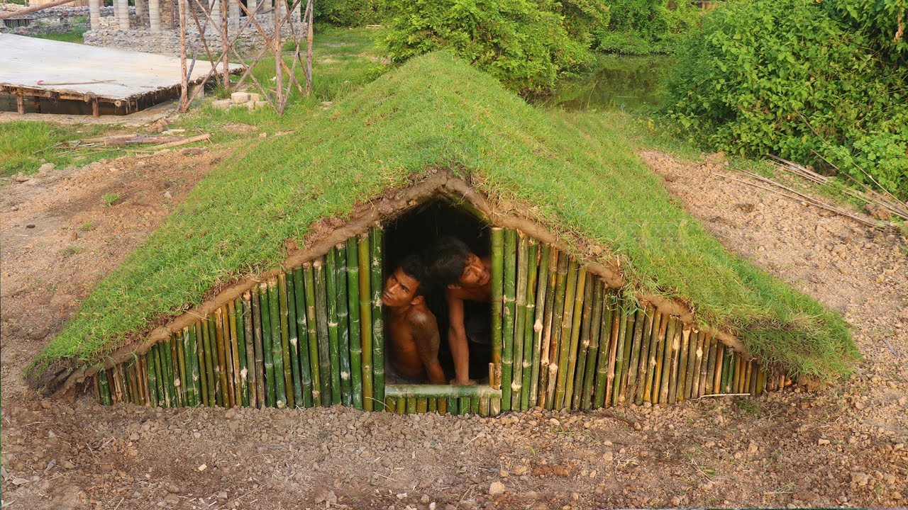 Build An Underground Home By Ancient Skills