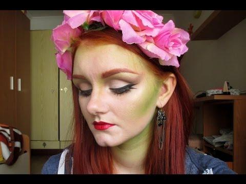 Poison Ivy/Mother Nature Halloween Tutorial | Phee\'s Makeup Tips ...