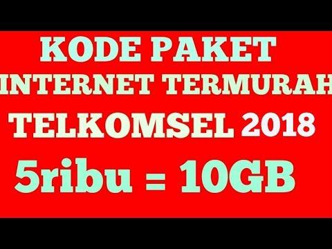 Kode Paket Internet Murah Telkomsel 2018